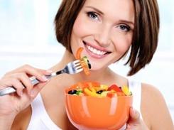 Kalorienverteilung zum Abnehmen