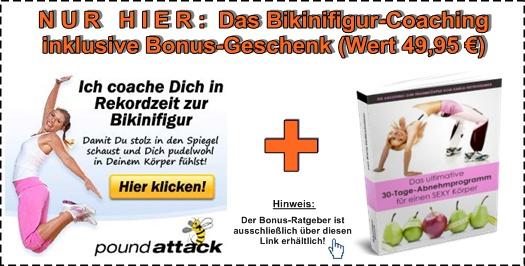 Bikinifigur-Coaching Geschenkbonus