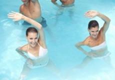 aqua fitness gegen übergewicht
