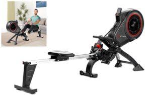 AsVIVA Heimtraining Rudergerät Magnetic Rower