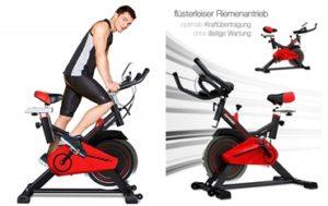 heimtrainingsgerät sportstech spinning bike