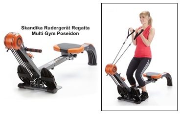 skandika Rudergerät Regatta Multi Gym test