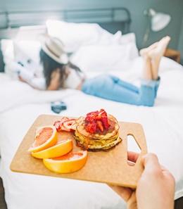 frühstück abnehmen